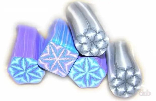 Flocos de neve, flores, folhas de samambaia - tudo isso pode ser facilmente feito de argila de polímero