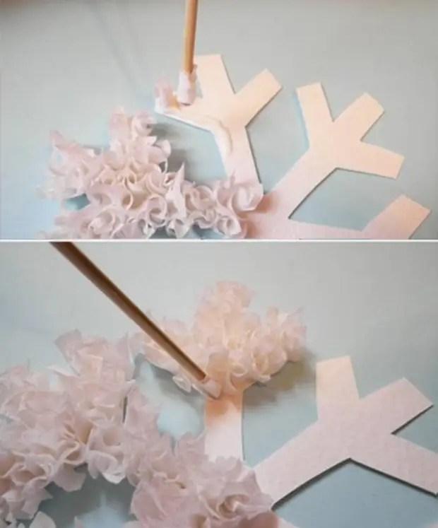 DIY aaltopaperi käsityöt