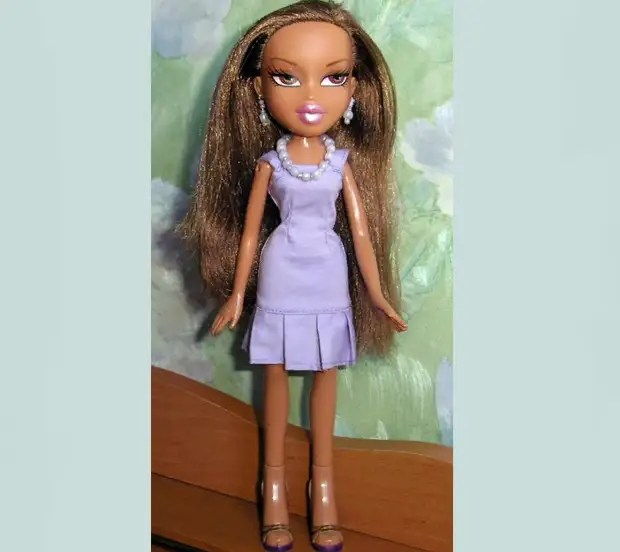 Платье для куклы братс