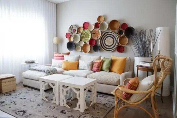 Эко-стильдегі табиғи материалдардан декорация