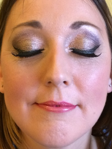 Wedding Makeup Corsham   Rachel Neate Make Up and Hair Artist Gold and bronze Special Occasion Makeup Chippenham