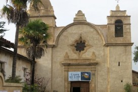 front view of Carmel mission