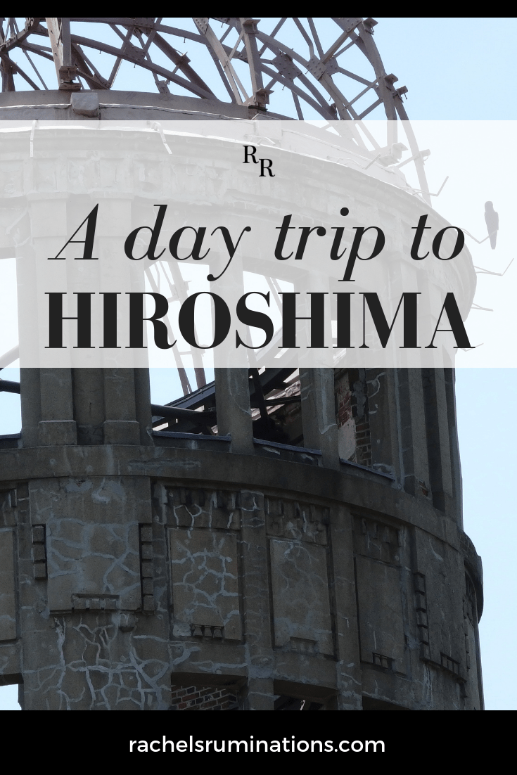 I decided to take a day trip to Hiroshima only because a friend insisted it was worth doing. I thought I already knew all about it. But he was right.  #hiroshima #atombomb #japan #c2cgroup via @rachelsruminations