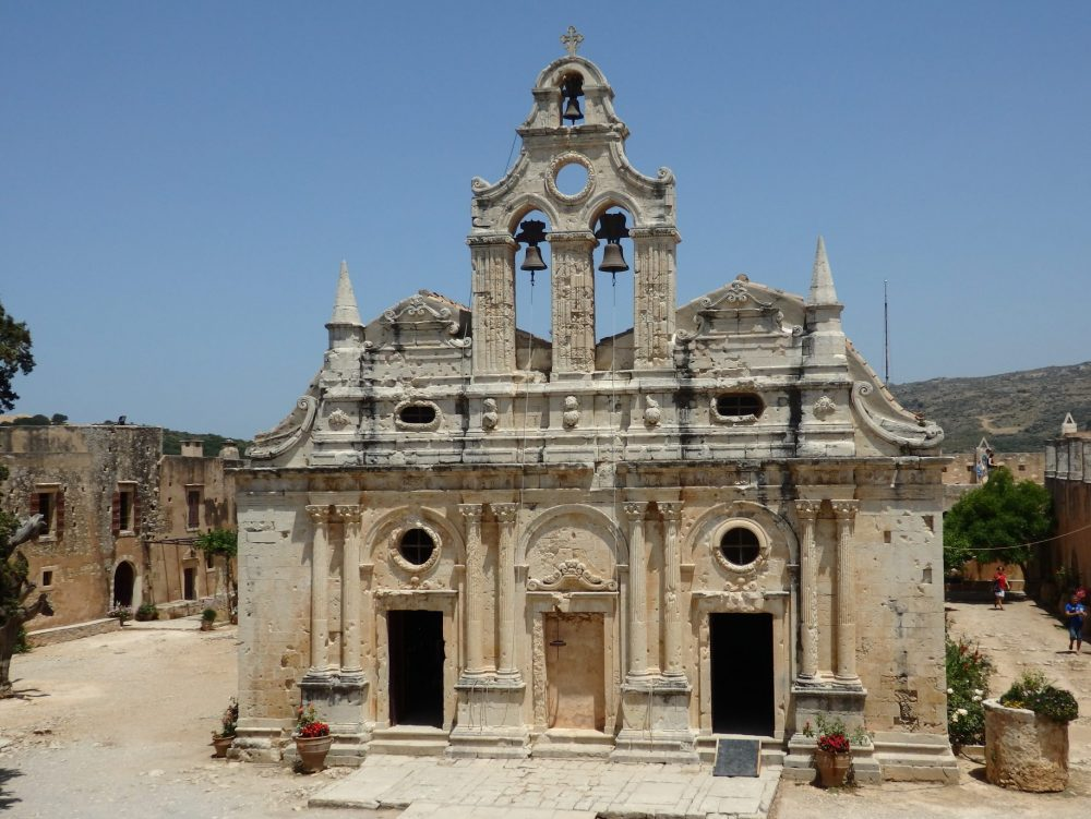 The church at Alkadi monastery in Crete: 25 real tips for women traveling alone