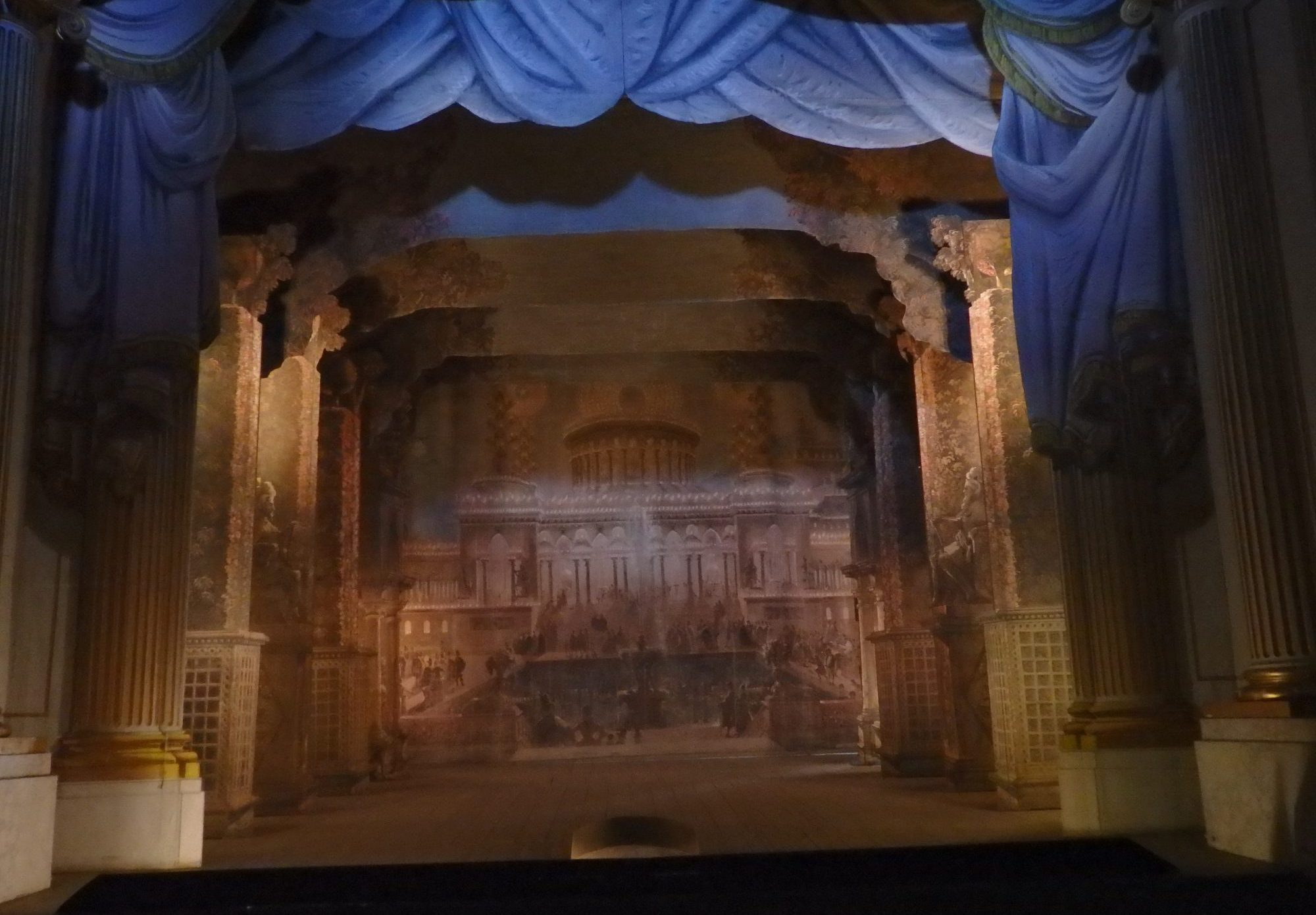 the theater in Gripsholm Castle, Mariefred, Sweden