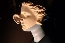 sculpture in the Dali Theatre-Museum in Figueres, Spain