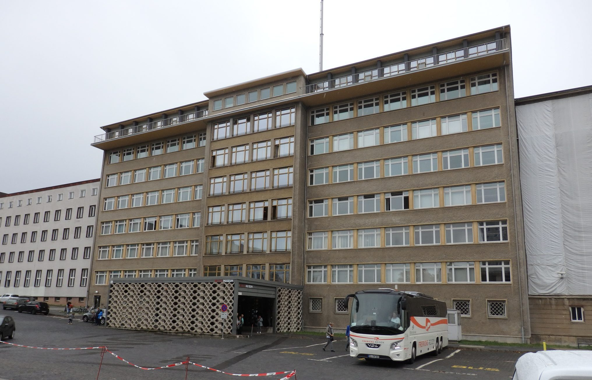 The Stasi Museum Berlin looks like an ordinary office building from the early 1960s.