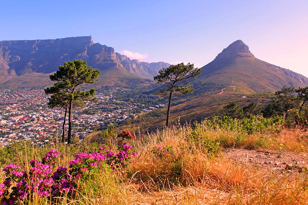 Table Mountain, Cape Town, South Africa. Photo courtesy of Full Suitcase family travel blog