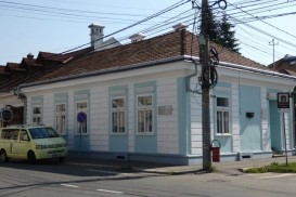 The Elie Wiesel Memorial is housed in this modest house in Sighet, Romania