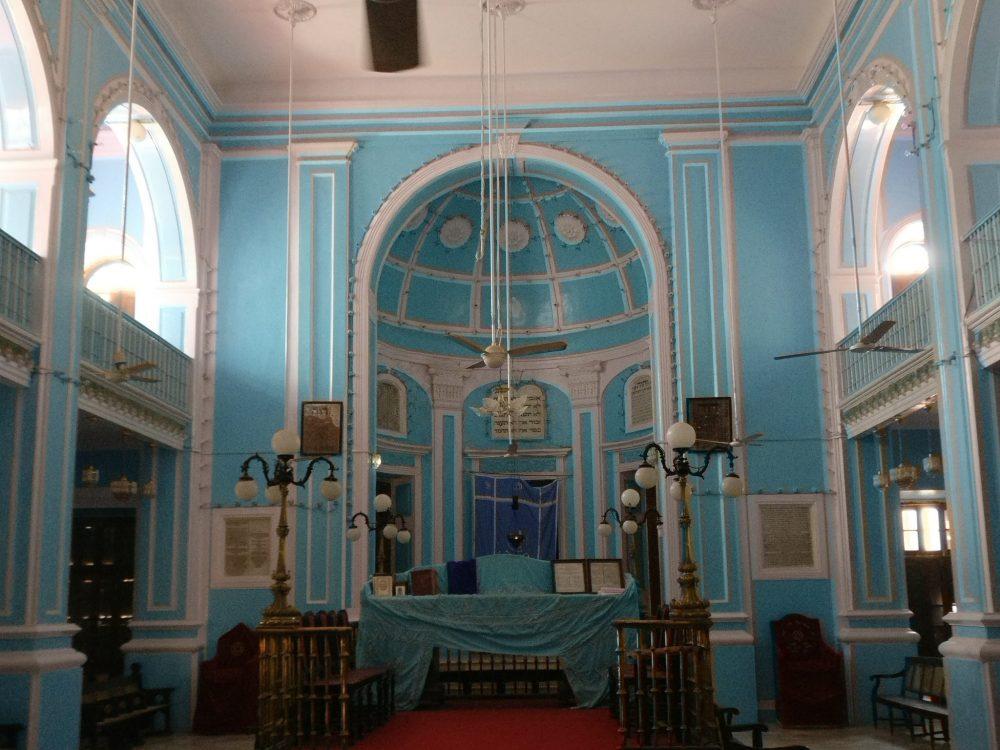 The Sassoon synagogue interior: Mumbai sightseeing