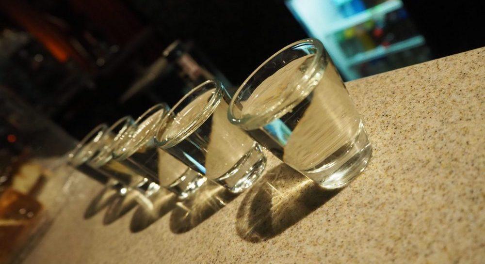 vodka shots on our Urban Adventures Krakow food tour