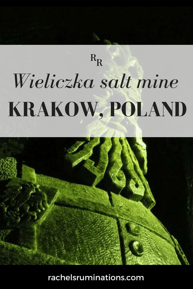 Wieliczka salt mine in Krakow, Poland