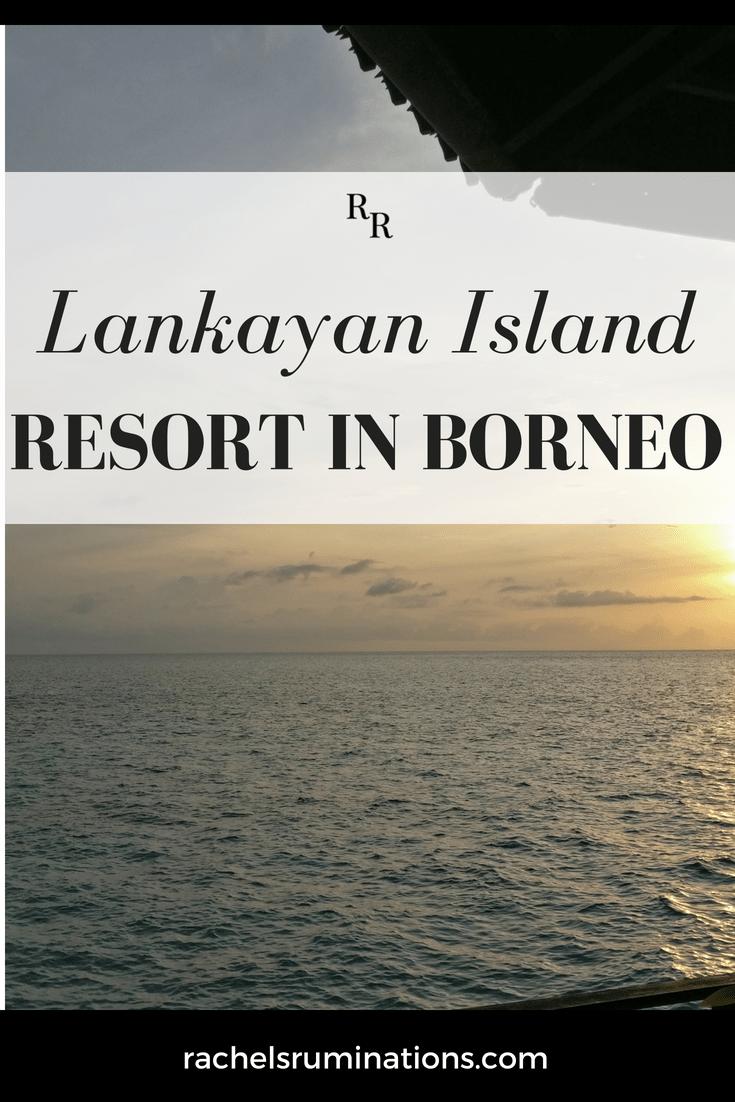 Lankayan Island Resort in Borneo: pinnable image