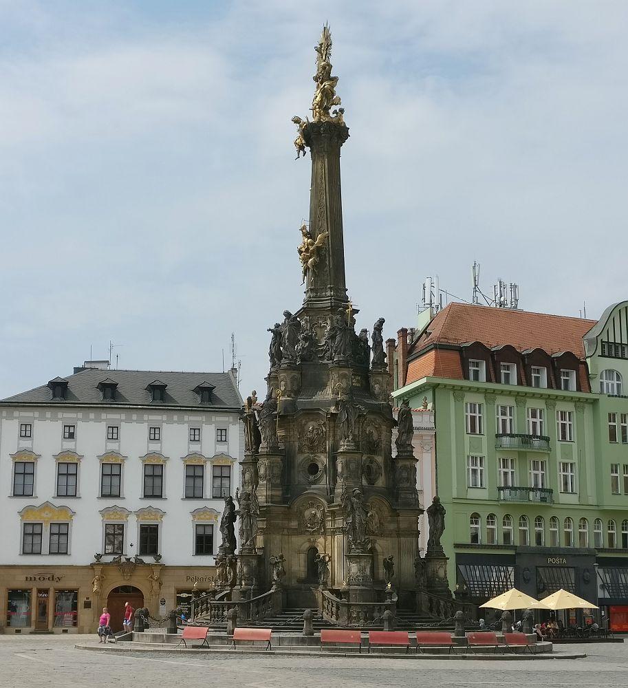 UNESCO site in Olomouc: the Holy Trinity Column