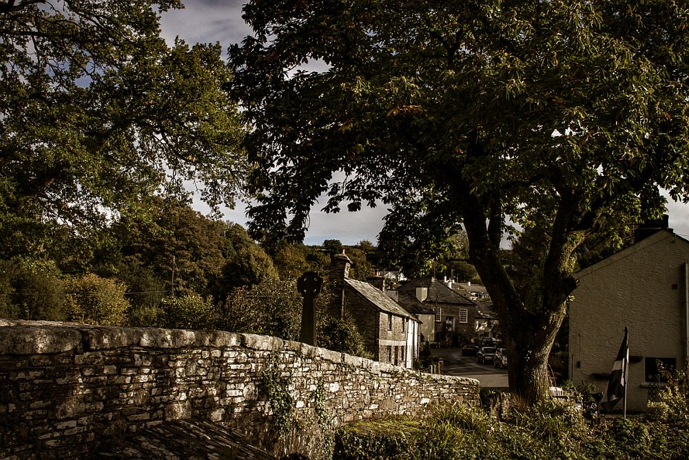 a typical Cornwall village: King Arthur in Cornwall
