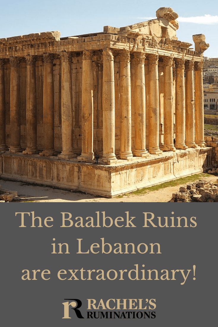 I was just blown away by the Baalbek ruins in Lebanon: a magnificent set of Roman temples and a designated UNESCO world heritage site. #unescosite #romanruins #baalbek #lebanon #archeologicalsite #rachelsruminations via @rachelsruminations