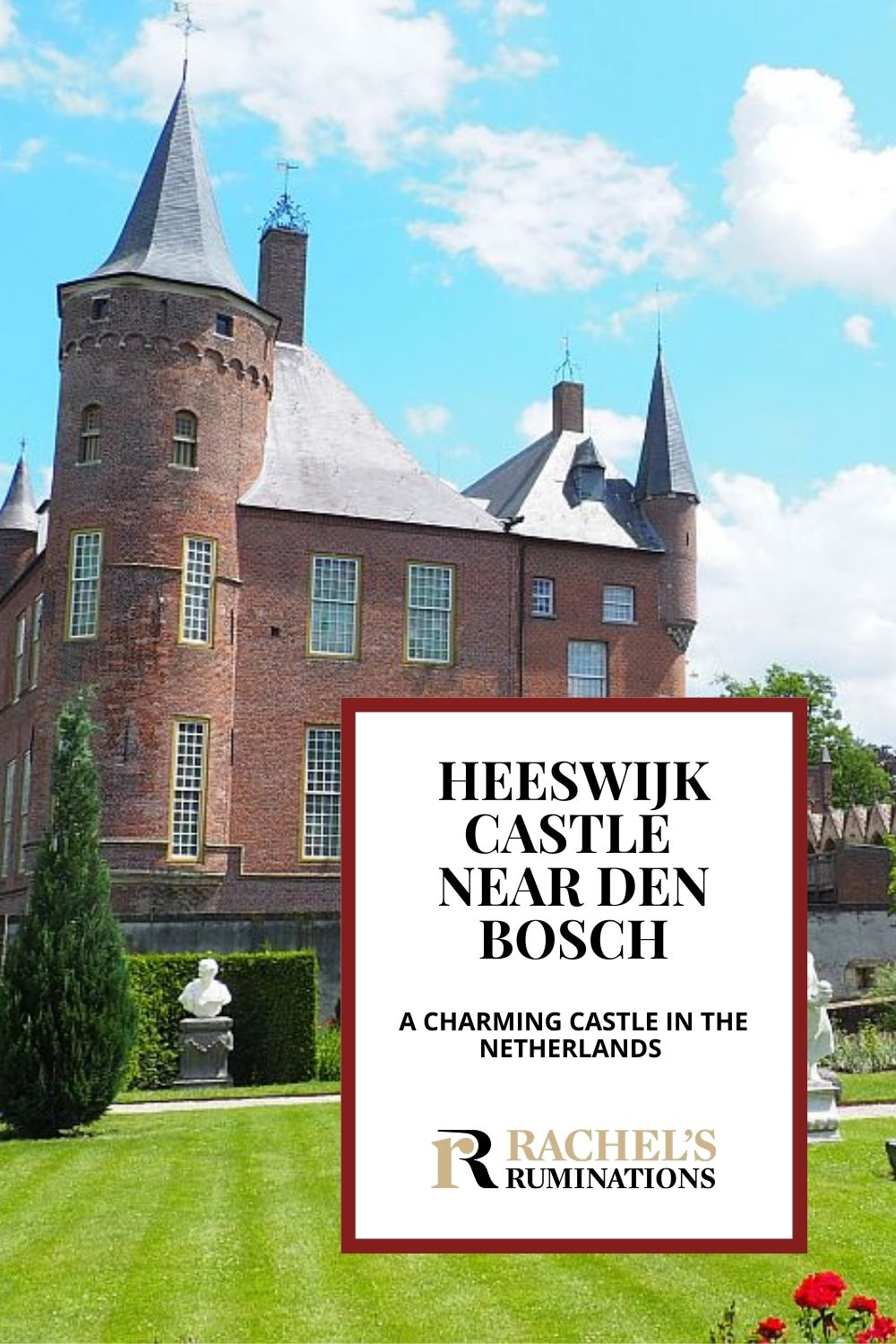 Heeswijk Castle near Den Bosch is a picturesque castle with interesting history (including a very odd will!) and a lovely garden for a stroll. Read all about it here! via @rachelsruminations