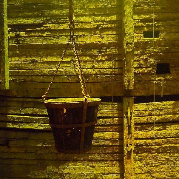 Falun Copper Mine UNESCO site in Sweden