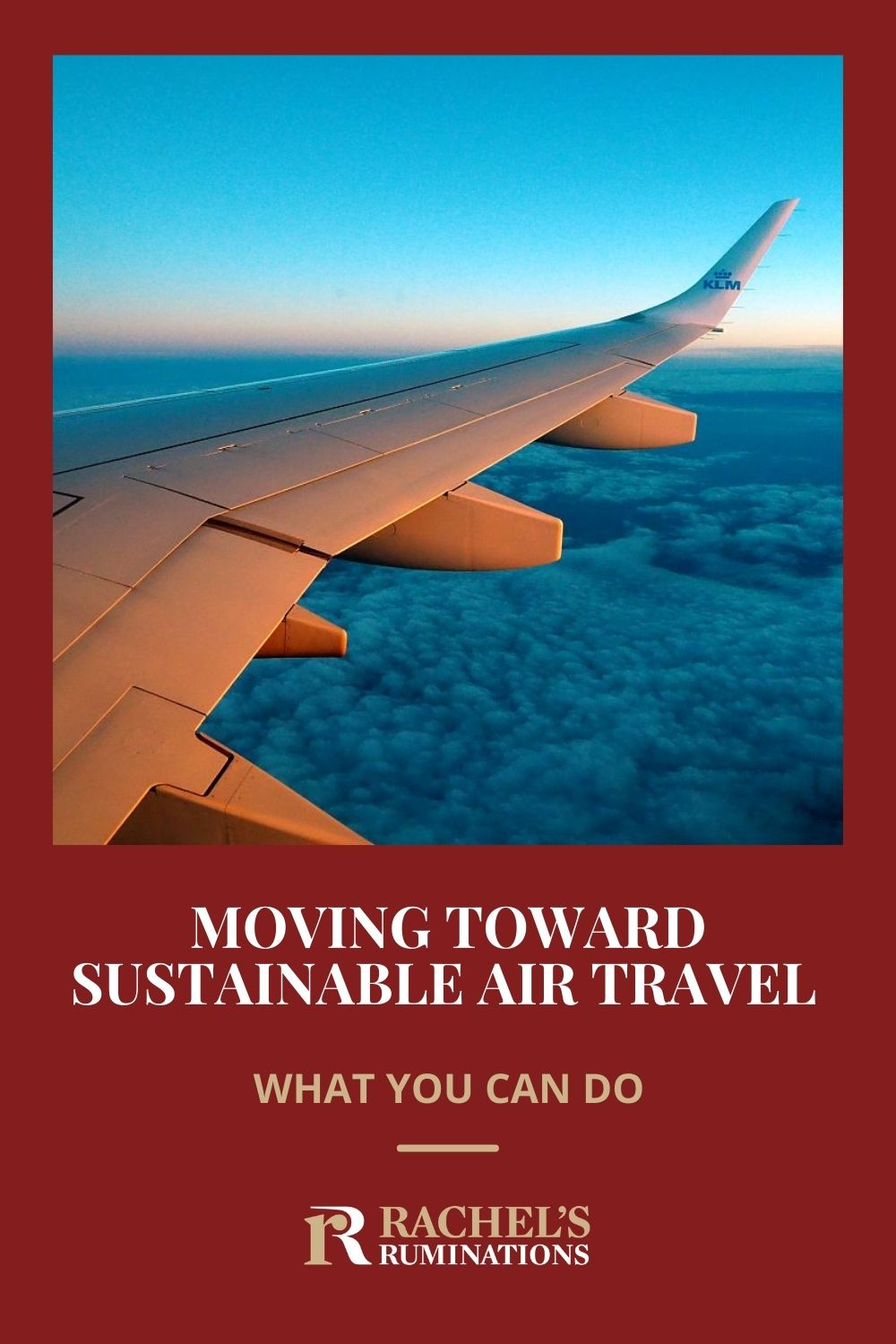 How can we move toward sustainable travel, especially if we still want to fly? Read here about ways to reduce your carbon footprint while flying, carbon offsetting, and carbon removal. via @rachelsruminations