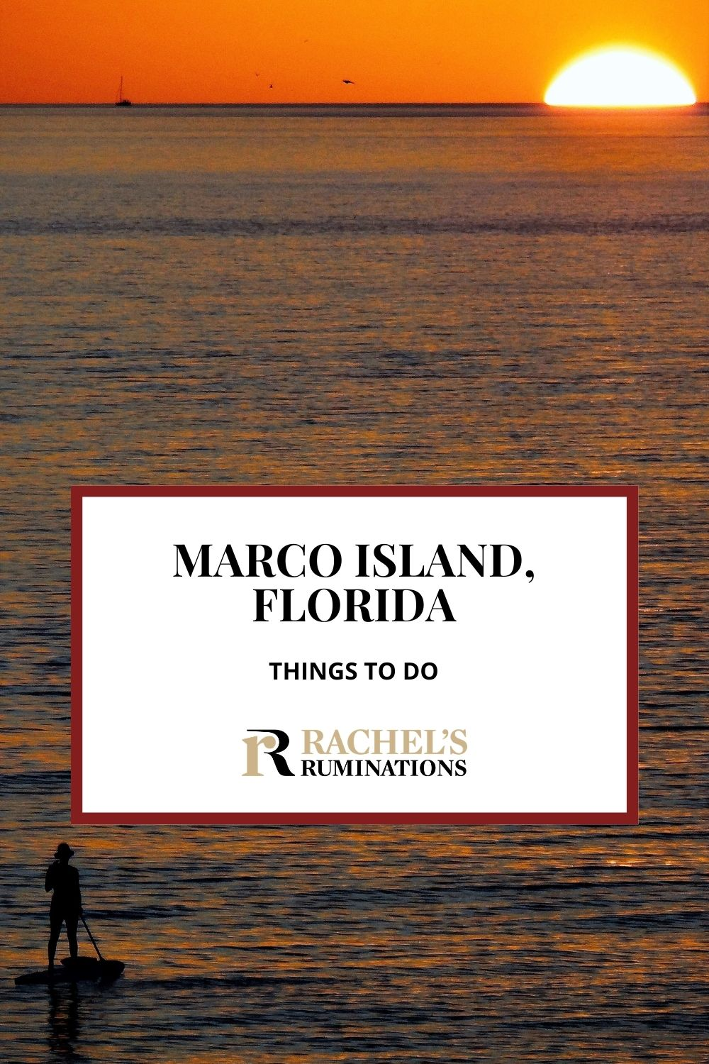 Looking for things to do on Marco Island in Florida? Read here for some ideas: things to see and do once you've had enough of lazing on the beach! via @rachelsruminations