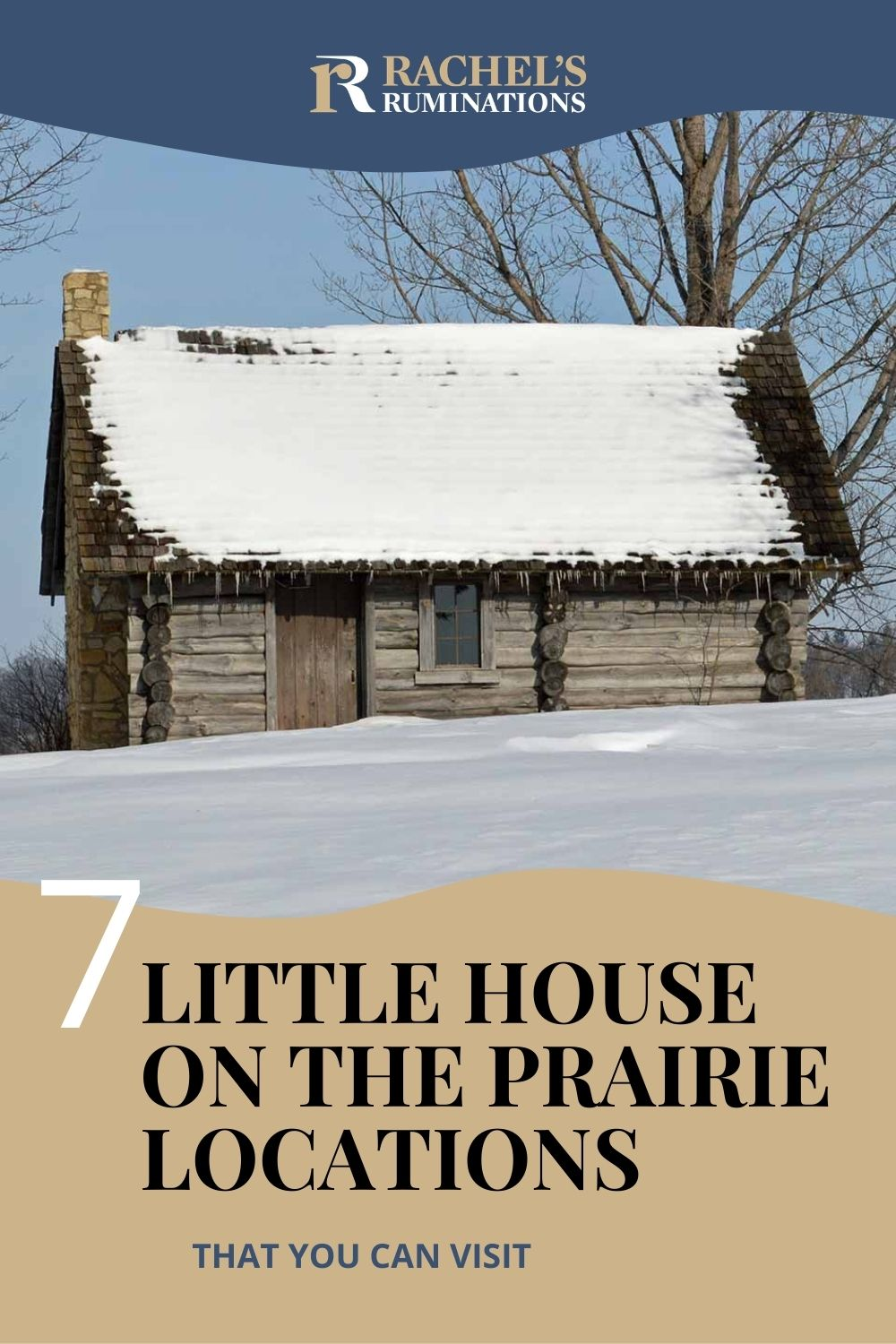 Fan of Laura Ingalls Wilder? Here's a list (and a map!) of all the Little House on the Prairie locations and what you can see at each one! via @rachelsruminations