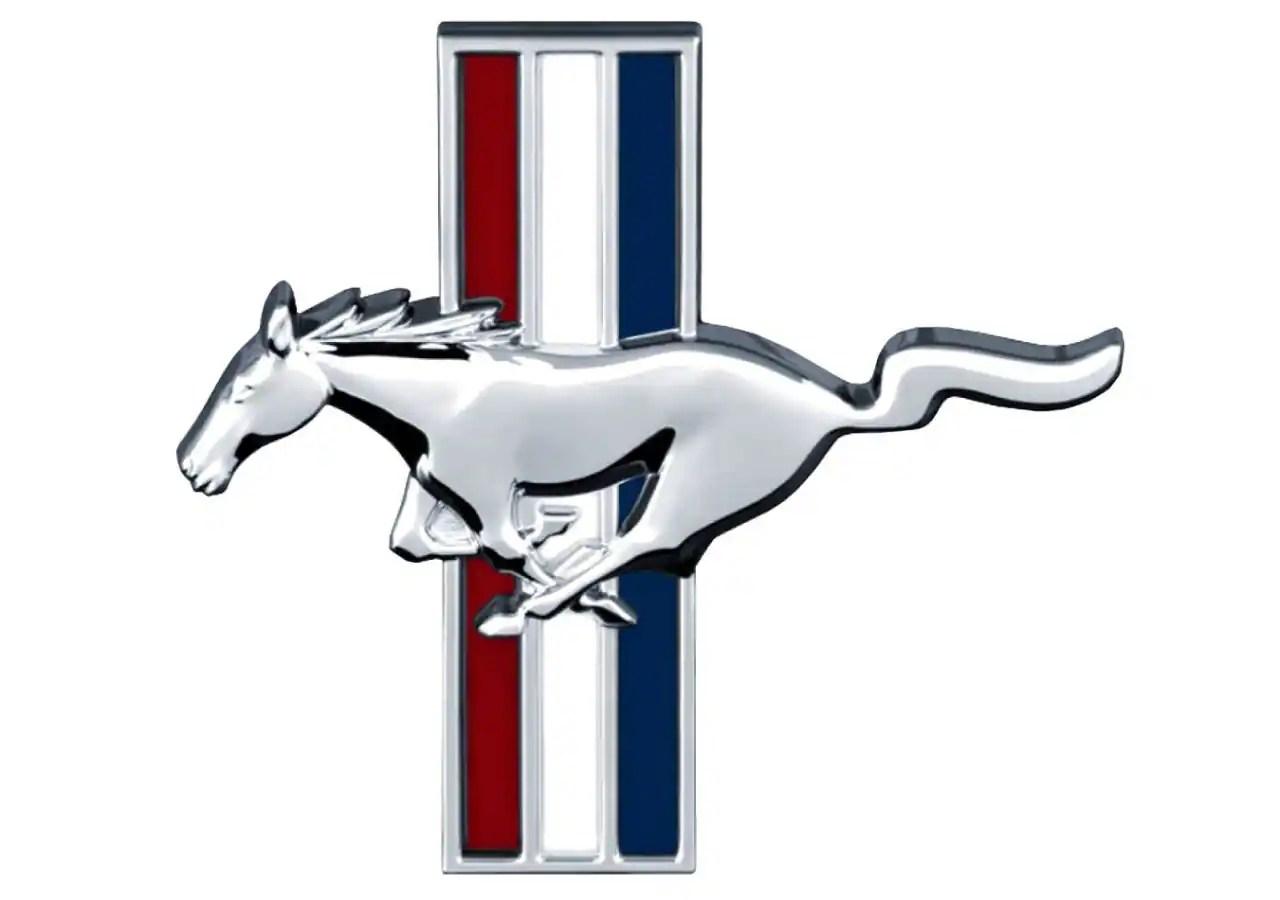 Flames Mustang Logo