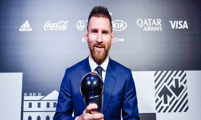 Es 'The Best' Lionel Messi tiene pisado a 'CR7'