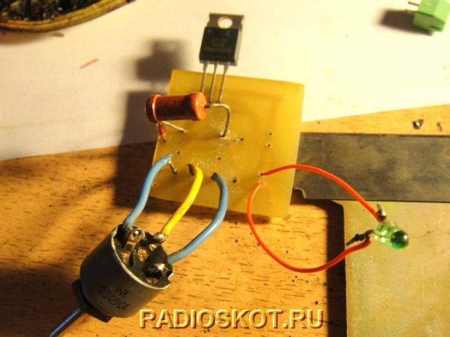 Slimming Simistor, dan perintang berubah ke papan
