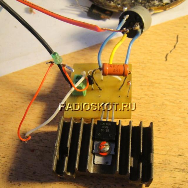 Pengatur voltan AC pada Simistor