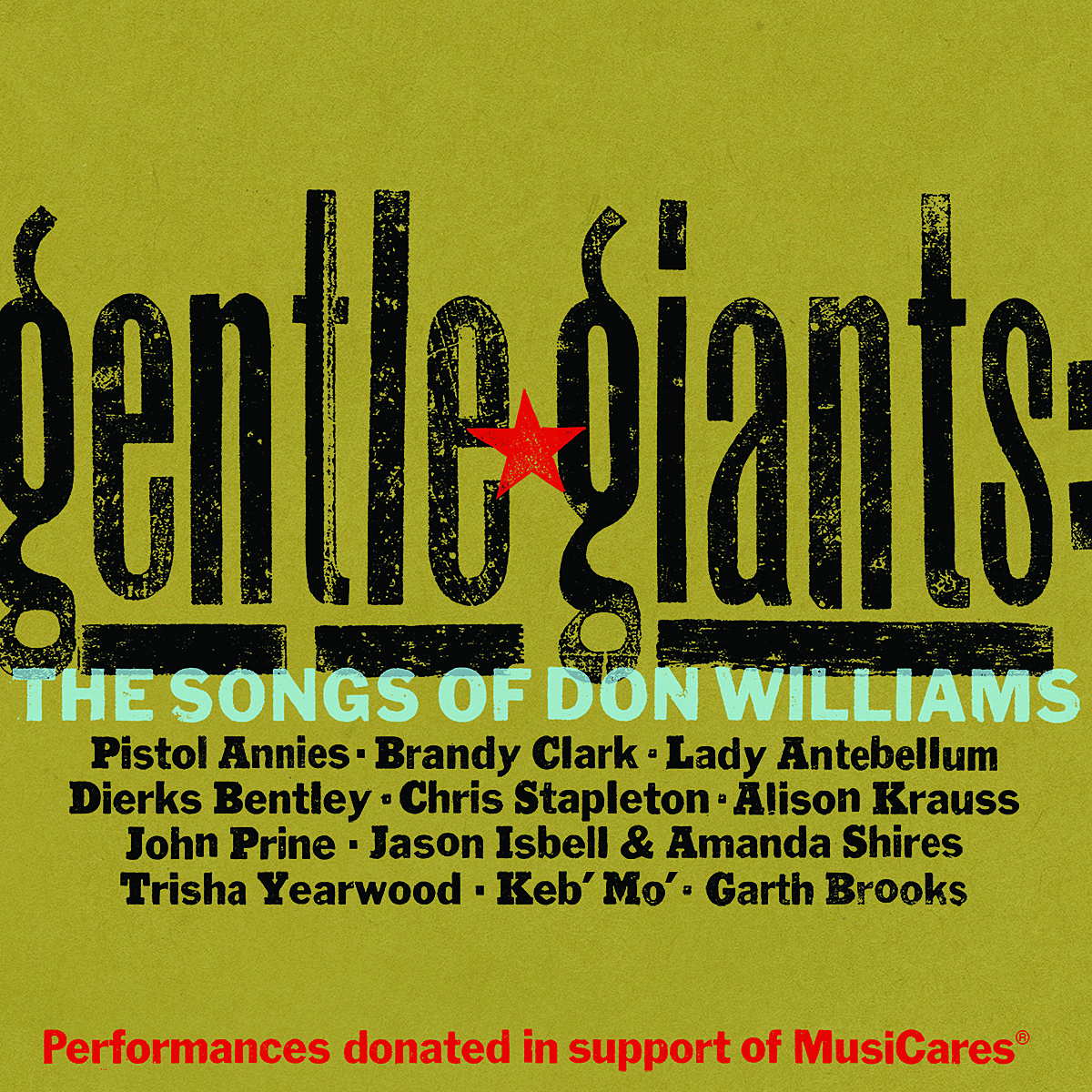 Gentle Giants The Songs Of Don Williams Features All