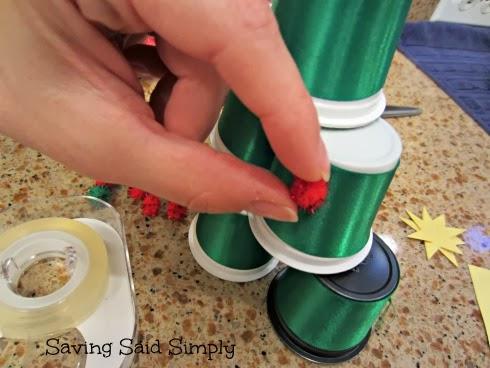 K-Cup Christmas tree tutorial