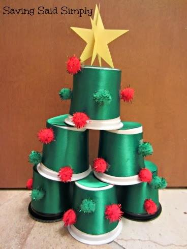 Upcycled DIY K-Cup Christmas Tree