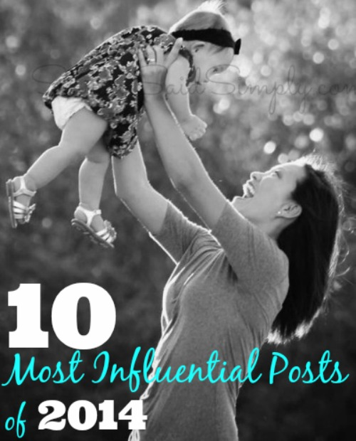Saving said simply most influential posts 2014
