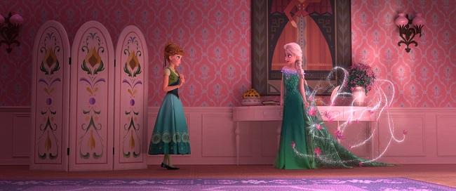 Frozen fever interview Cinderella
