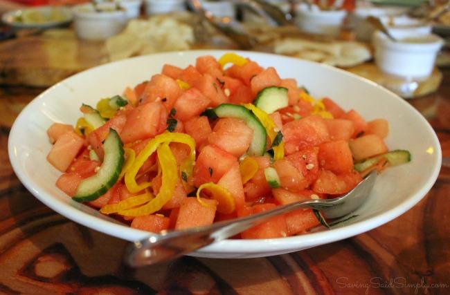 Sanaa watermelon salad