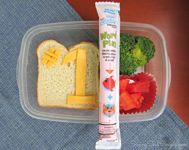 Easy lunchbox idea
