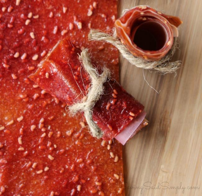 Diy fruit leather