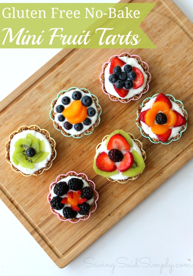 Gluten free no bake fruit tart recipe