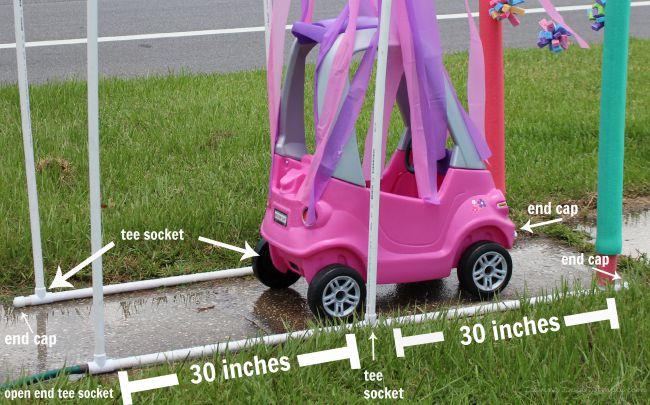 Kid car wash tutorial