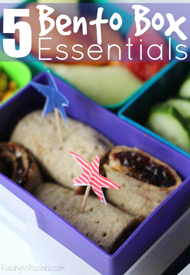 Bento box essentials for school lunch success