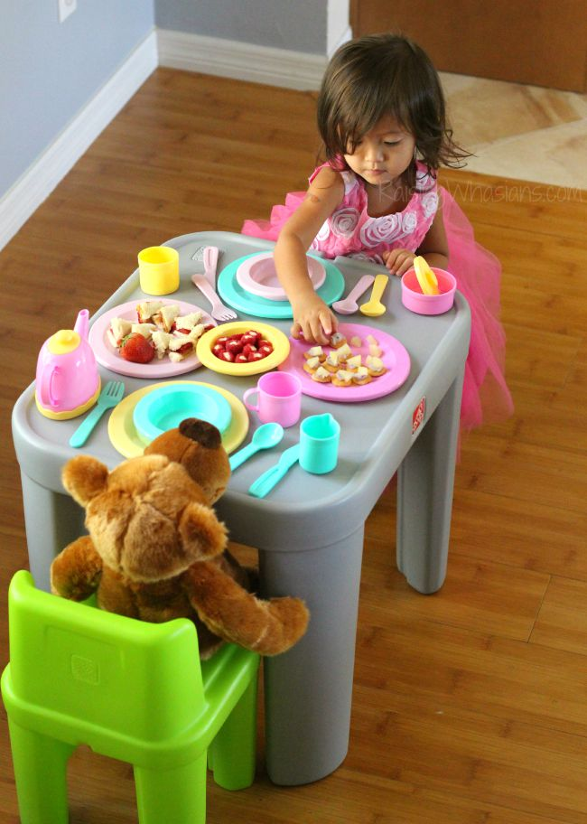 Toddler tea party ideas