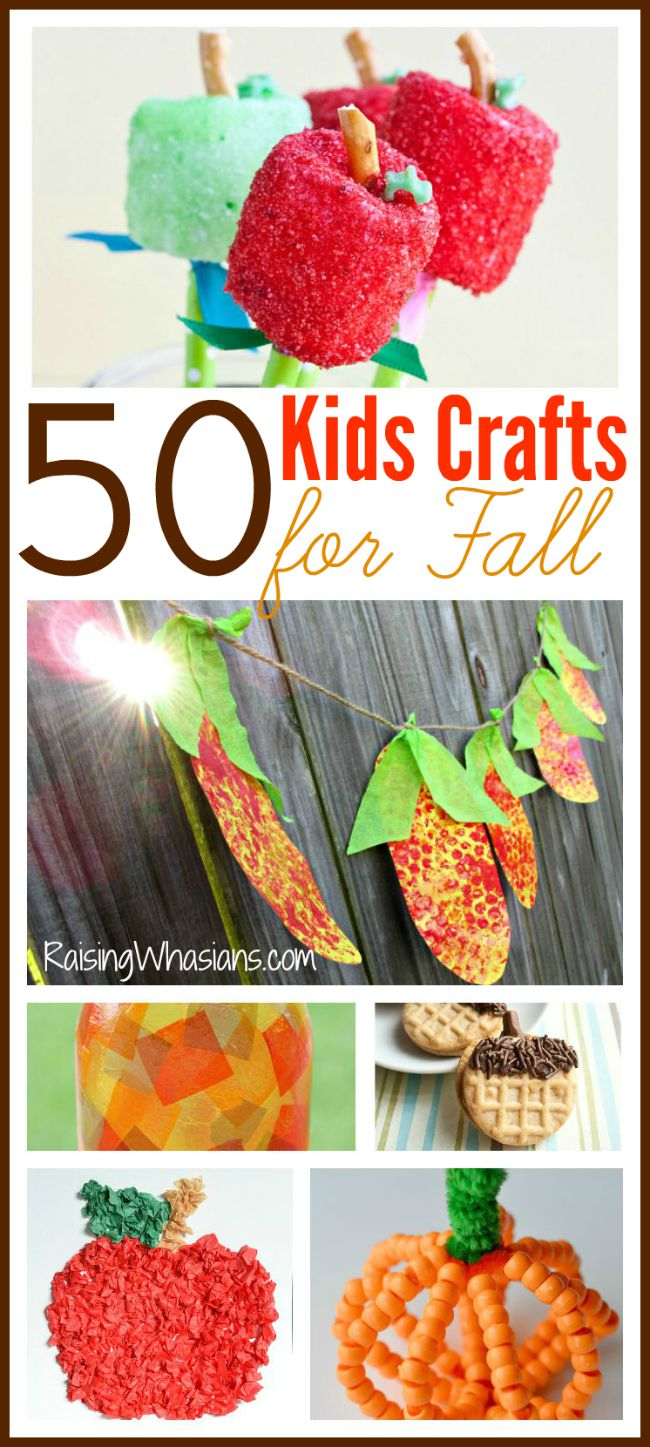 Kids crafts for fall ultimate fall crafting bucket list