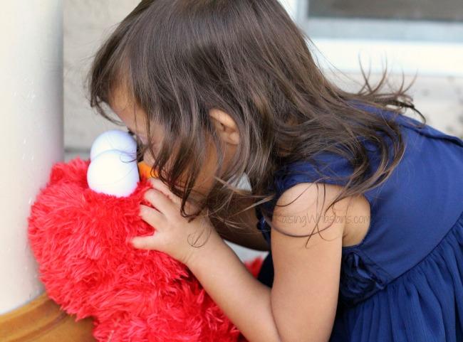 Interactive Elmo toy