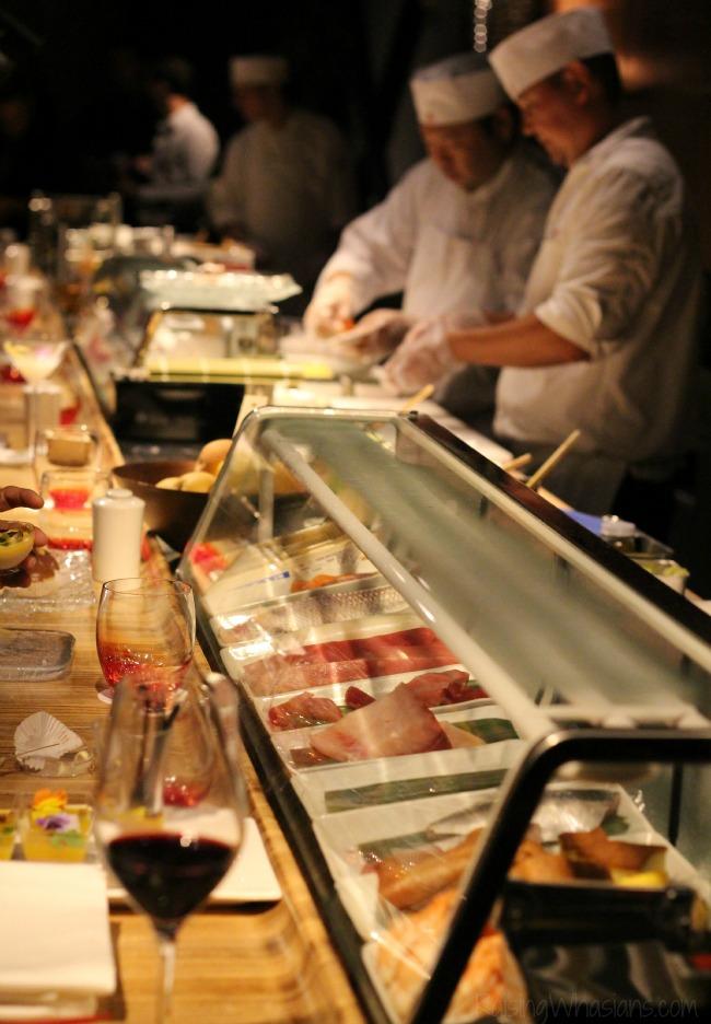 Morimoto Asia sushi bar