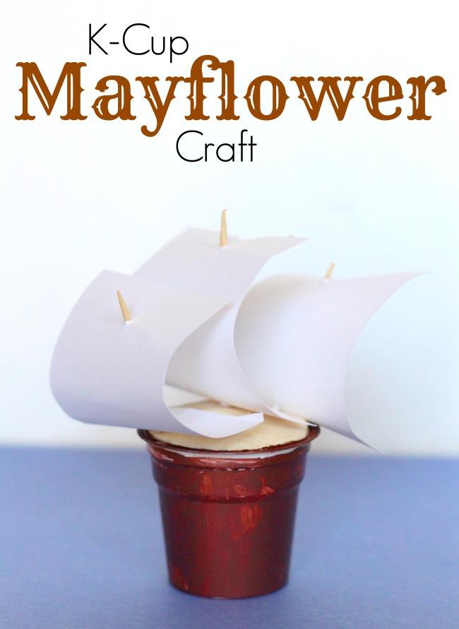 Mayflower craft for kids