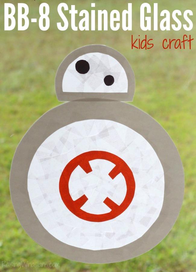 BB-8 kids craft
