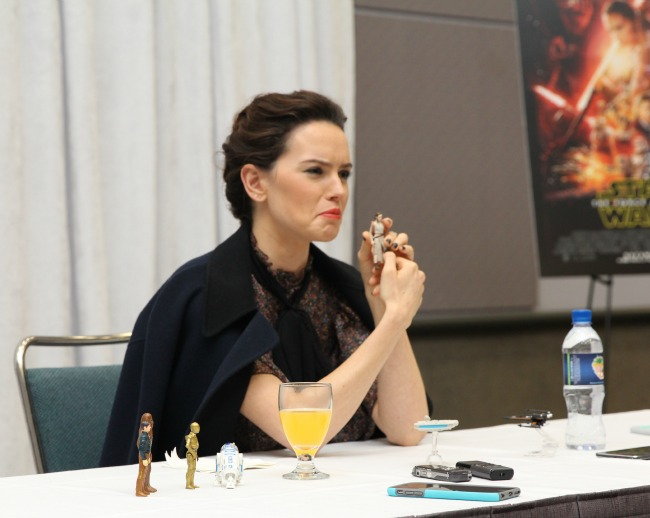 Exclusive Daisy ridley interview