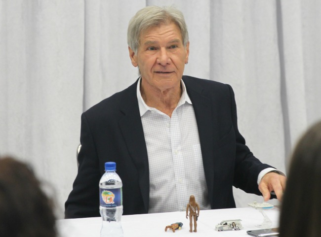 Harrison ford interview han solo