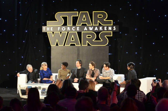 Star wars press conference the force awakens