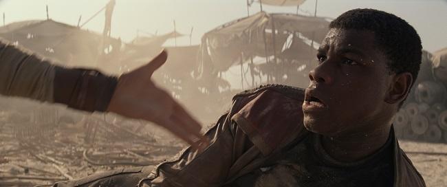 The force awakens John Boyega interview